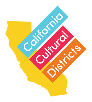 The California Cultural Districts logo.