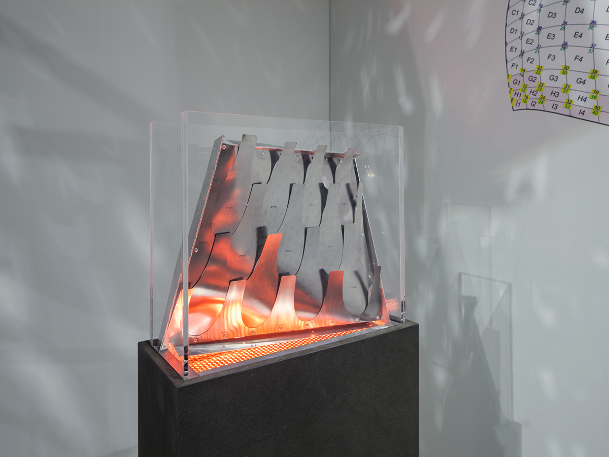 Do/Su Studio Architecture, 'Bloom,' 2011. Aluminum with steel model, activated by heat.