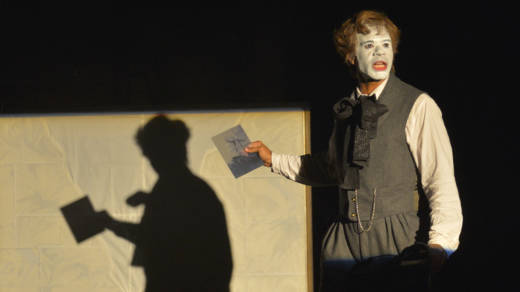 The fictional playwright BJJ (Lance Gardner) re-imagines the 19th melodrama 'The Octoroon' in 'An Octoroon' at the Berkeley Rep.