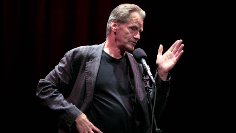 "Sam Shepard recites a short story at ""Toil and Trouble . . Stories of Experiments Gone Wrong"" at the World Science Festival held at The Moth at Symphony Space on May 29, 2008 in New York City."