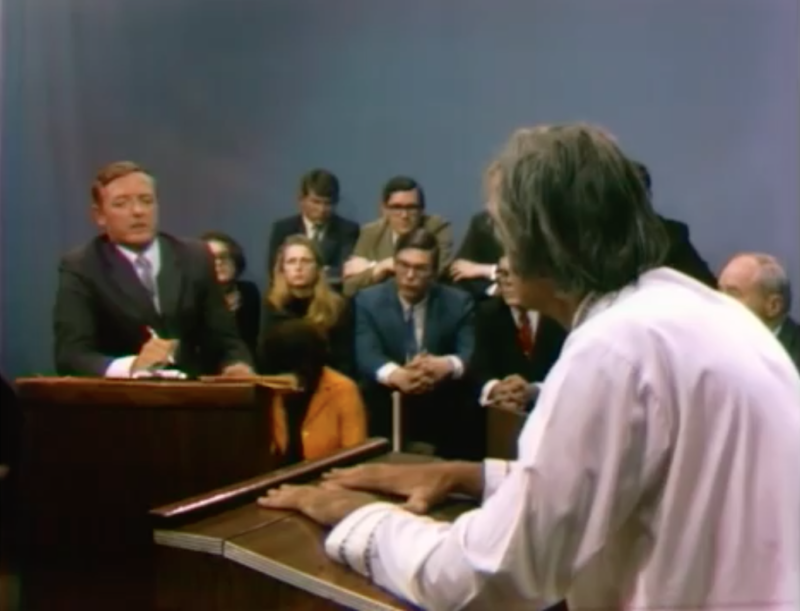 "William F. Buckley, Jr. and Dr. Timothy Leary debate in front of a live audience on Firing Line. (Episode 53, ""The World of LSD"")"