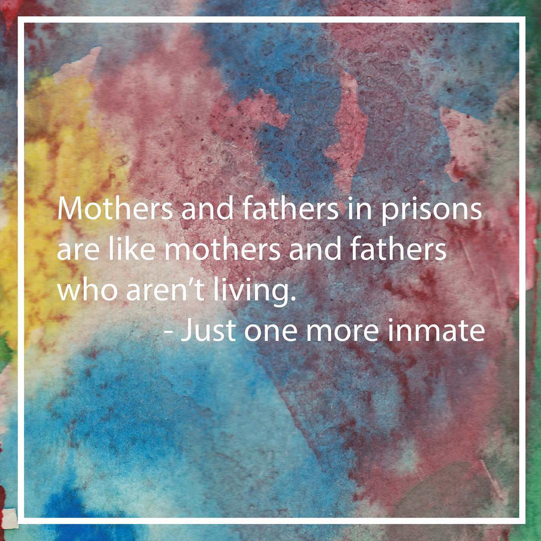 An anonymous quote from 'Voices from San Quentin,' April 2017.