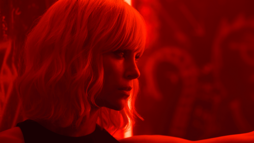 Agent Lorraine Broughton (Charlize Theron) sees red in 'Atomic Blonde.'