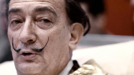 Salvador Dali in 1971