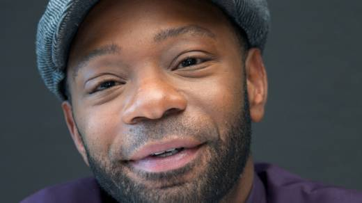 """Nelsan Ellis, photographed in 2014, died at the age of 39 from """"complications with heart failure,"""" according to his manager."""