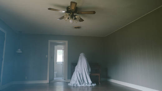 'A Ghost Story' unfolds in long, static shots, most of them without faces to hang onto.
