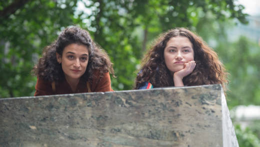 Jenny Slate and Abby Quinn in 'Landline.'