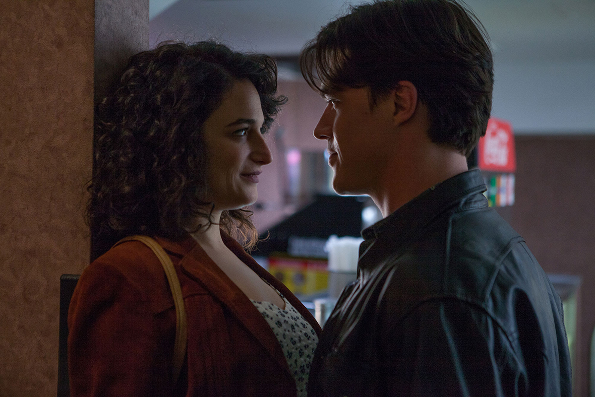 Jenny Slate and Finn Wittrock in 'Landline.'