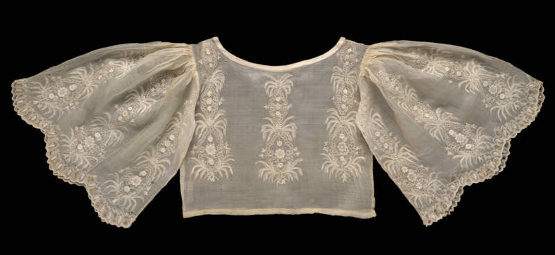 Woman's blouse (camisa), approx. 1850–1950. Philippines; Luzon.