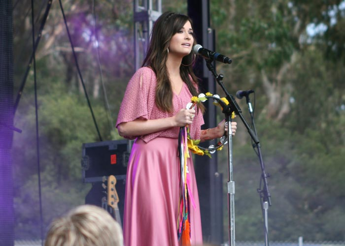 Kacey Musgraves at Outside Lands in 2014.