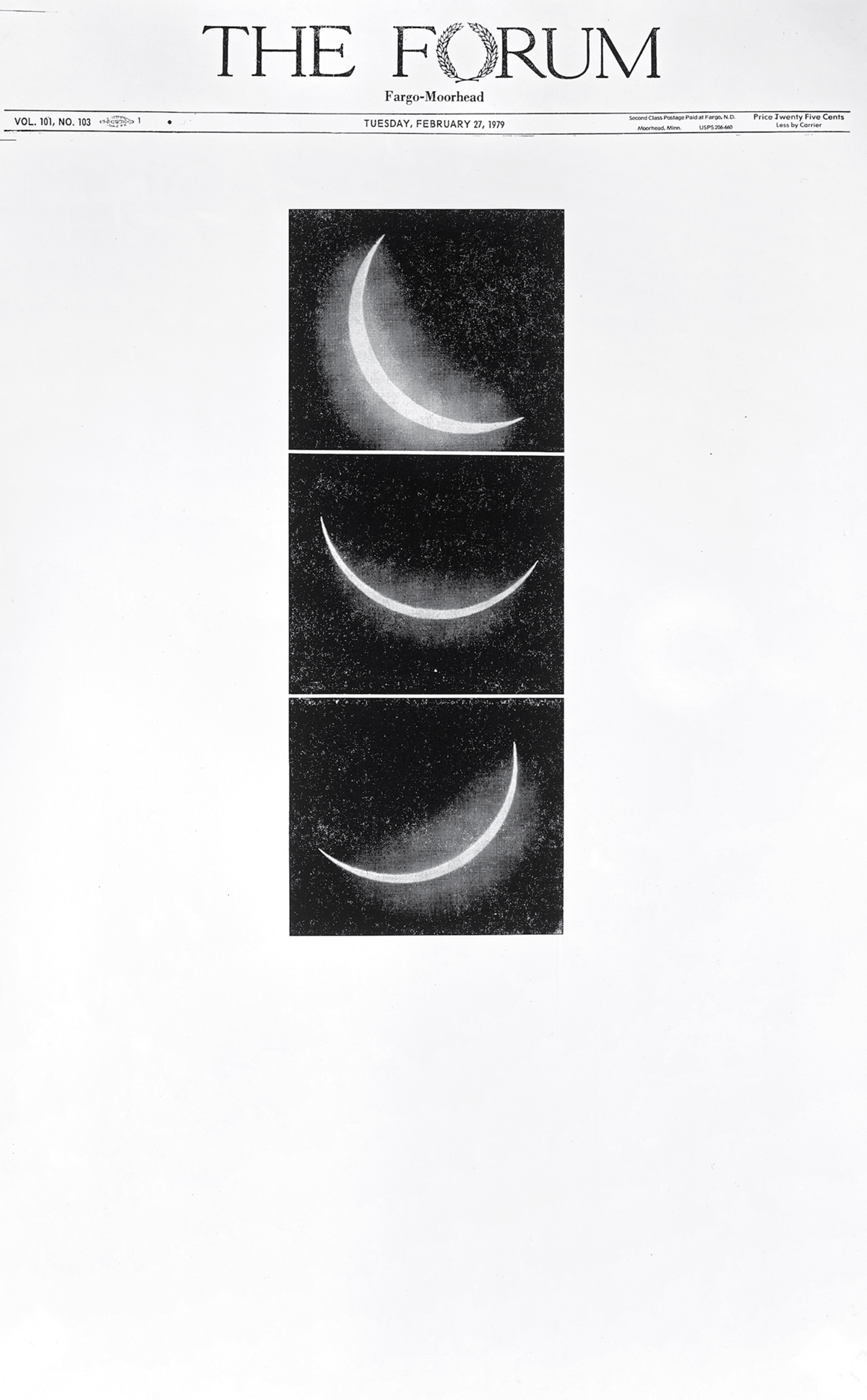 Sarah Charlesworth, 'Arc of Total Eclipse, February 26, 1979' (detail), 1979/2010.