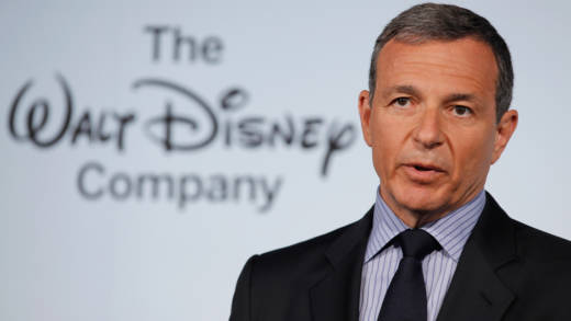 "The Walt Disney Company Chairman and CEO Robert Iger delivers remarks during an event introducing Disney's new ""Magic of Healthy Living"" program at the Newseum June 5, 2012 in Washington, DC."