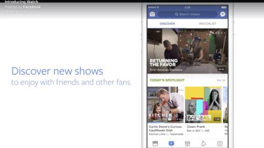 Facebook Watch's programming will run the gamut from live event coverage to reality TV to scripted programs to professional sports.