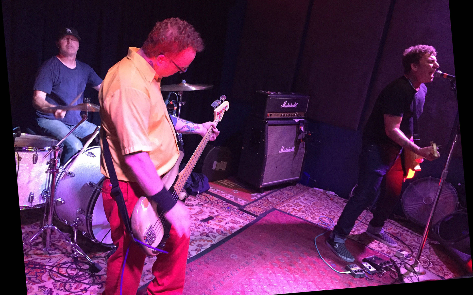 Jawbreaker plays their first show in 21 years, Aug. 3, 2017, at the Ivy Room in Albany, Calif. Gabe Meline/KQED