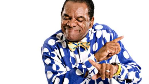 Comedian John Witherspoon showing how well he coordinates