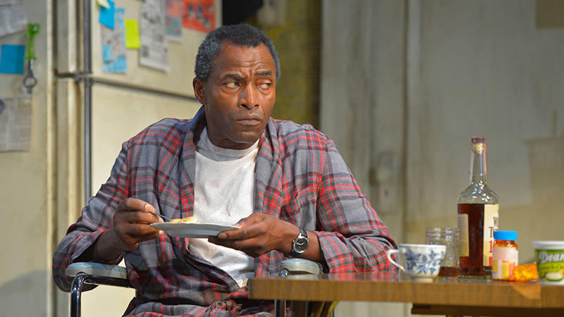 "Carl Lumbly in Stephen Adly Guirgis's ""Between Riverside and Crazy"" at ACT."
