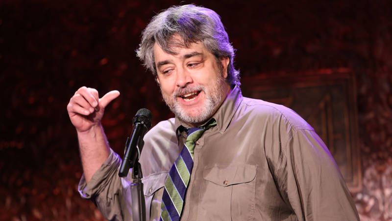 Stephen Adly Guirgis speaks at the 80th Annual New York Drama Critics' Circle Awards at 54 Below on May 19, 2015 in New York City.