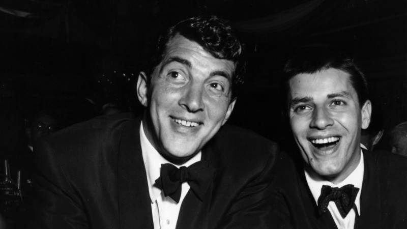 Dean Martin and Jerry Lewis in 1953.