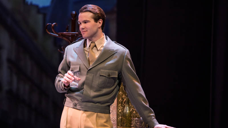 Jerry Mulligan (McGee Maddox) is more cipher than character in the new stage adaption of 'An American in Paris' at the Orpheum.