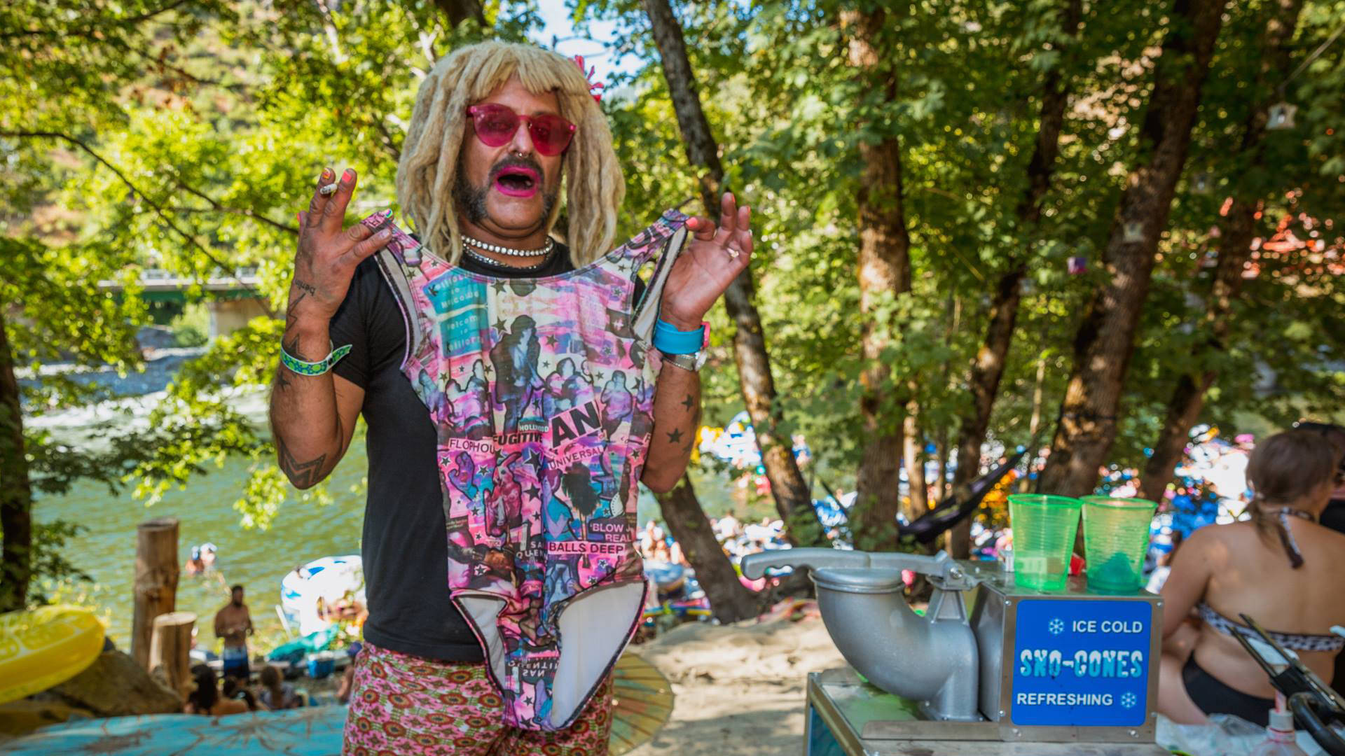 Bubbles at Sunset Camp Out 2017