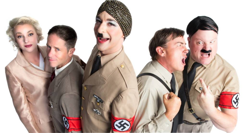 The cast of 'Hitler in the Green Room,' among the many plays at the San Francisco Fringe Festival