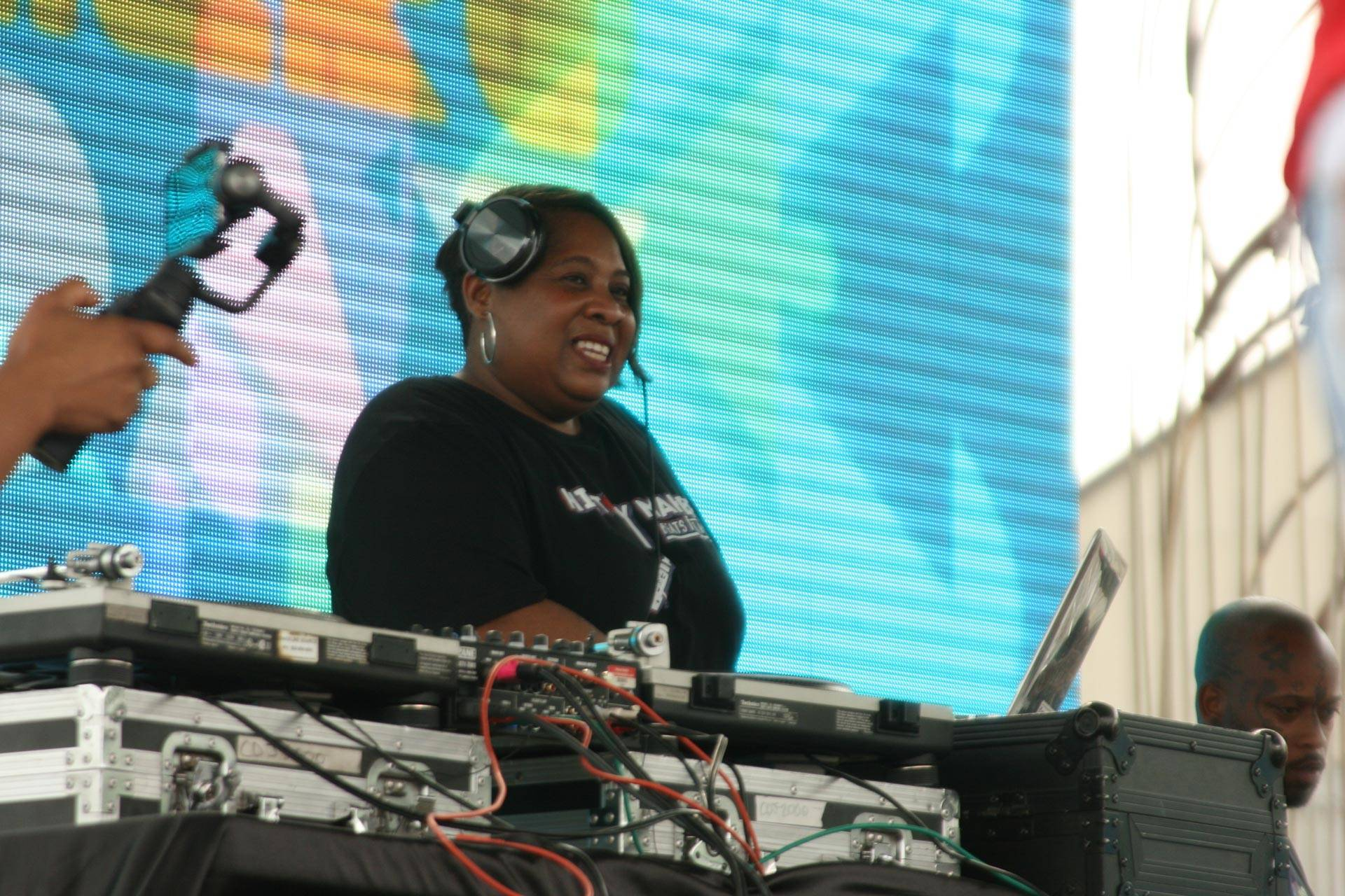 Pam the Funkstress performs at Hiero Day 2017. Gabe Meline