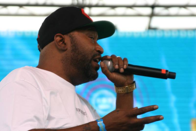 Bun B performs at Hiero Day 2017.