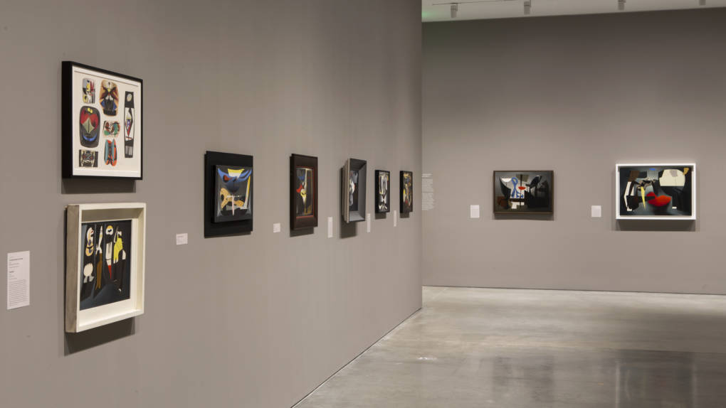 Installation view of 'Charles Howard: Margin of Chaos' at the Berkeley Art Museum and Pacific Film Archive. On view through Oct. 1.