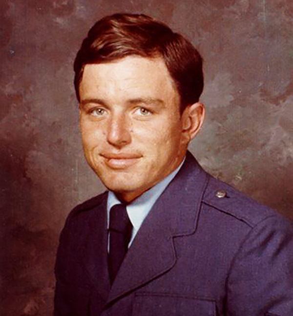 Jerry Mathers in his Air Force Reserve uniform