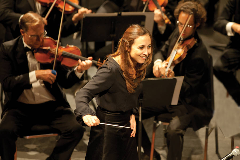 Joana Carneiro leads the Berkeley Symphony in a program featuring a world premiere by composer William Gardiner.