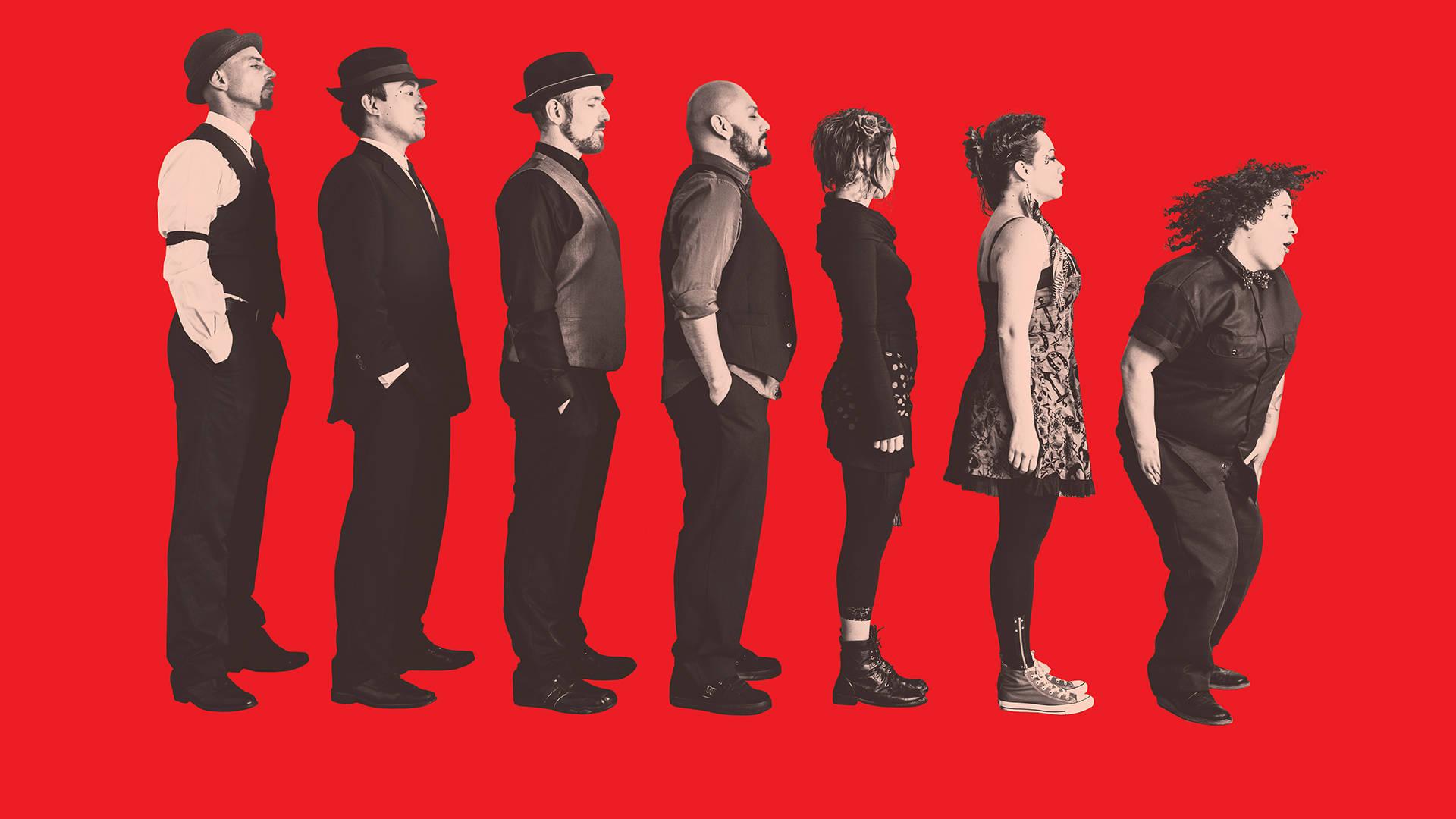 La Misa Negra's self-titled second studio album captures the frenetic energy of the band's popular live shows. La Misa Negra