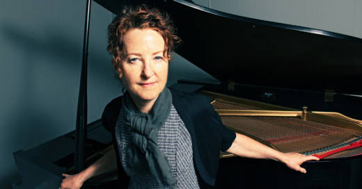 Pianist Myra Melford plays a gig with her quartet at the Red Poppy Art House.
