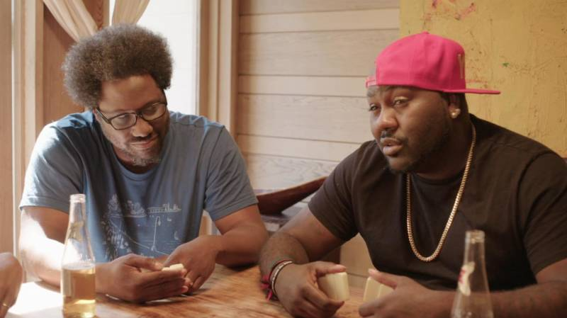 W. Kamau Bell and Mistah Fab in 'The North Pole.'