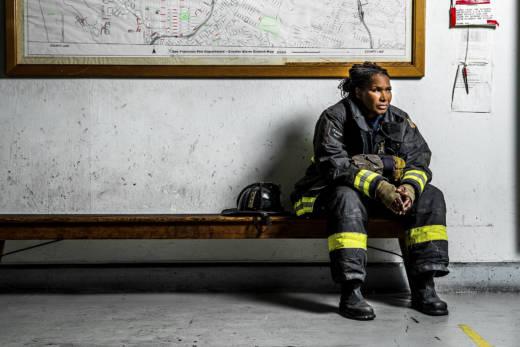 Christie Hemm Klok, 'Shelia Hunter - Lieutenant, 30 years.'
