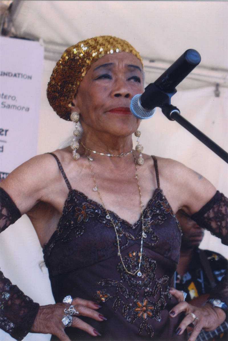 Sugar Pie DeSanto, an Oakland blues icon, still performs today.