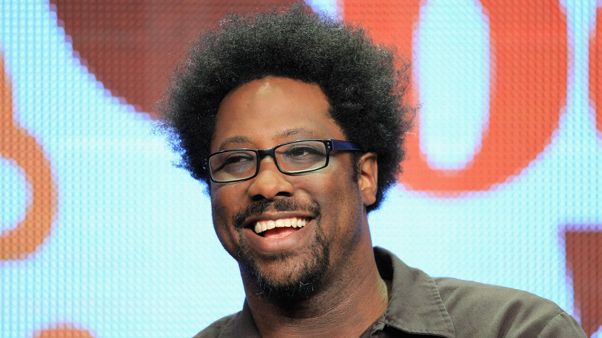 W. Kamau Bell speaks onstage at the 'Totally Biased with W. Kamau Bell' panel during the FX portion of the 2012 Summer TCA Tour on July 28, 2012 in Beverly Hills, California.   Frederick M. Brown/Getty Images