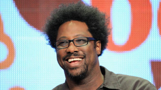 W. Kamau Bell speaks onstage at the 'Totally Biased with W. Kamau Bell' panel during the FX portion of the 2012 Summer TCA Tour on July 28, 2012 in Beverly Hills, California.