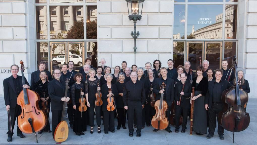 Music Director Nicholas McGegan and the Phiharmonia Baroque Orchestra.