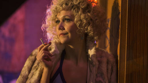 Maggie Gyllenhaal plays Candy, a prostitute who begins to see a way off the street, in HBO's 'The Deuce.'