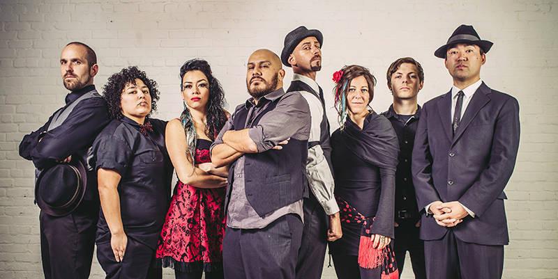 La Misa Negra's seven members come from diverse musical backgrounds and walks of life.