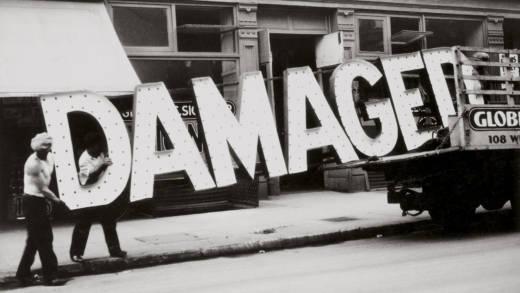 Walker Evans, 'Truck and Sign,' 1928–30.