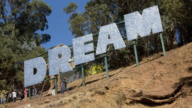 Sign on Bernal Hill Questions Just Who is Allowed to Dream