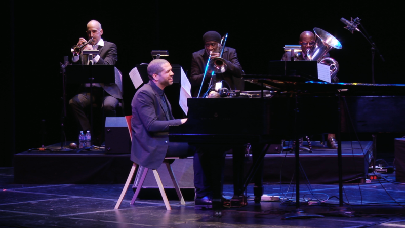 Jason Moran performing 'In My Mind: Monk At Town Hall, 1959' at the Kennedy Center in 2015.