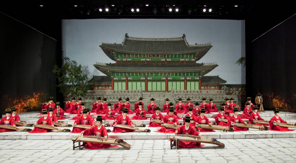 Court Music Orchestra of the National Gugak Center in Seoul, South Korea
