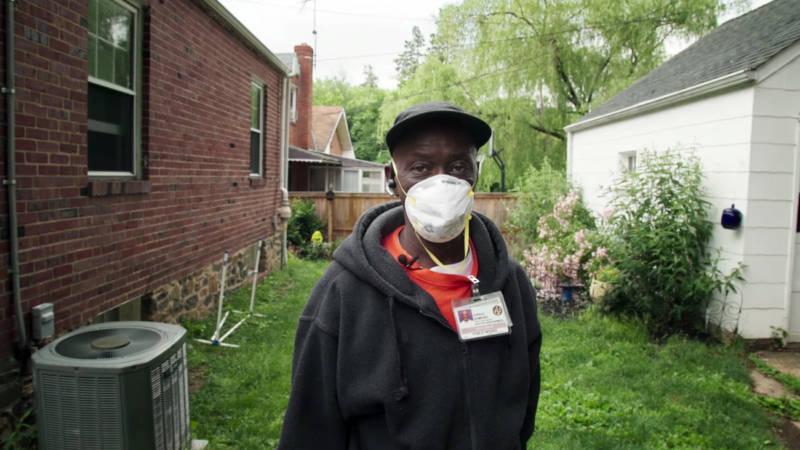 Baltimore resident Harold Edmond in Theo Anthony's 'Rat Film'