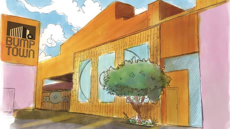 Bump Town rendering