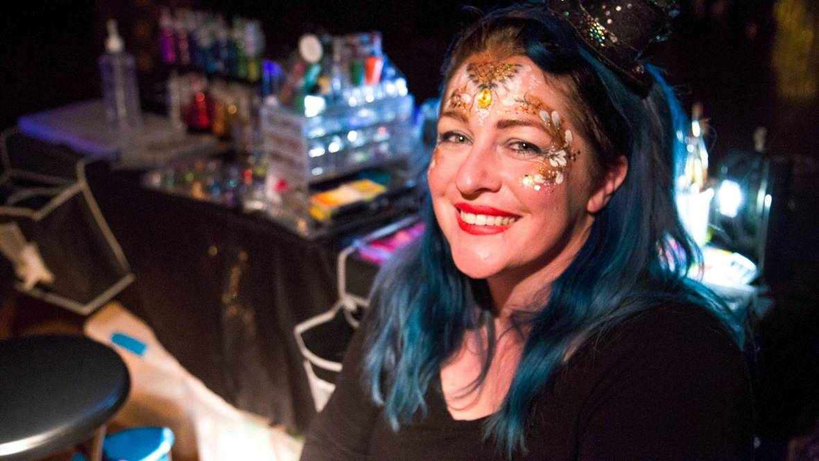 Clementine Lee ran her face-painting business out of her garage in Santa Rosa, painting faces at birthday parties and community events for years. Now, after the fire, she's unsure if she can stay in the city.