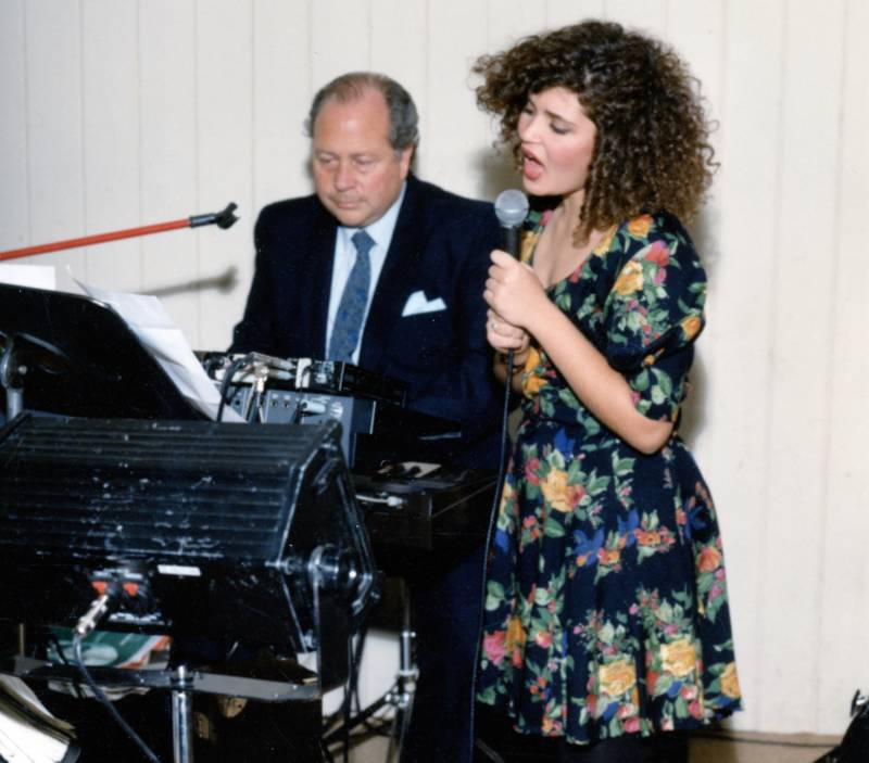 Fred and Shira Myrow performing together
