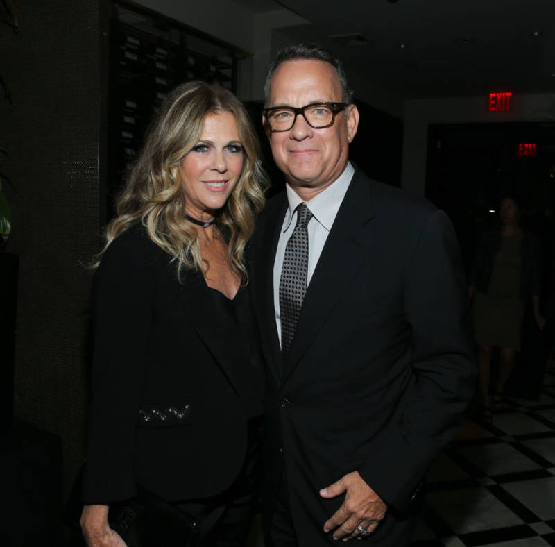 Tom Hanks and Rita Wilson attend the afterparty for 'The Circle' during the 2017 Tribeca Film Festival on April 26, 2017 in New York City.
