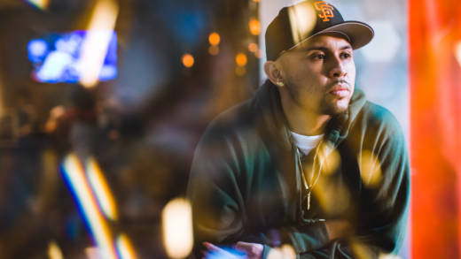A founding member of IAMSU's HBK Gang, P-Lo recently collaborated with E-40.